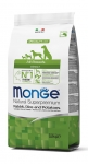 Monge All Breeds Adult Rabbit, Rice and Potatoes Dog Dry Formula 2.5kg