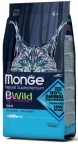 Monge BWild Anchovies Adult Cat Dry Formula