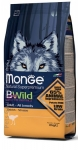 Monge BWild Ostrich All Breeds Adult Dog Dry Formula