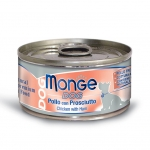 Monge Chicken with Ham Dog Wet Canned Food