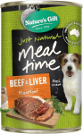 Nature's Gift Beef & Liver Meatloaf Dog Canned