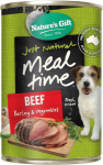 Nature's Gift Beef, Barley & Vegetables Dog Canned