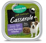 Nature's Gift Casserole Lamb, Vegetable & Barley Dog Tray Food