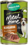 Nature's Gift Kangaroo, Rice & Vegetables Dog Canned