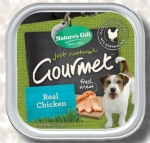 Nature's Gift Real Chicken Dog Tray Food