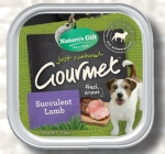 Nature's Gift Succulent Lamb Dog Tray Food