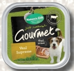 Nature's Gift Veal Supreme Dog Tray Food