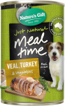 Nature's Gift Veal, Turkey & Vegetables Dog Canned