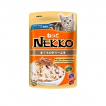 Nekko Pouch Real Tuna in Jelly with Katsuobushi Cat Wet Food