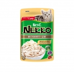 Nekko Pouch Real Tuna in Jelly with Sasami Cat Wet Food