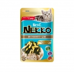 Nekko Pouch Real Tuna in Jelly with Seaweed and Steamed Egg Cat Wet Food
