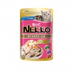 Nekko Pouch Real Tuna in Jelly with Shrimp and Scallop Cat Wet Food