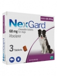 NexGard Chewable 3 Tablets for Small Dogs 10-25kg