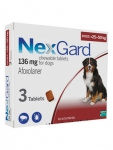 NexGard Chewable 3 Tablets for Small Dogs 25-50kg