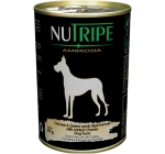 Nutripe Chicken & Green Lamb Tripe Formula with added Cheese Dog Canned Food