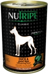 Nutripe Duck & Green Lamb Tripe Formula Dog Canned Food