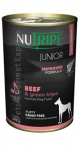 Nutripe Junior Beef & Green Tripe Formula Dog Canned Food
