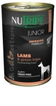 Nutripe Junior Lamb & Green Tripe Formula Dog Canned Food