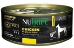 Nutripe Pure Chicken & Green Tripe Formula Dog Canned Food 95g
