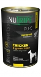 Nutripe Pure Chicken & Green Tripe Formula Dog Canned Food