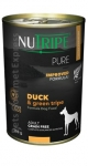 Nutripe Pure Duck & Green Tripe Formula Dog Canned Food