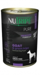 Nutripe Pure Goat & Green Tripe Formula Dog Canned Food