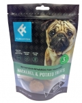 Purely Fish Mackerel & Potato Treats Dog Treats