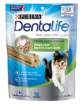 PURINA DentaLife Daily Oral Care Dental Chews For Small to Medium Dogs