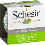 Schesir Nature Chicken Fillets Natural Style Cat Canned