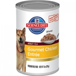 Science Diet Adult Gourmet Chicken Entrée Dog Canned