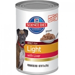 Science Diet Adult Light Dog Canned