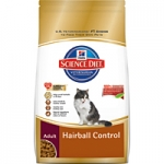 Science Diet Feline Adult Hairball Control Dry Formula
