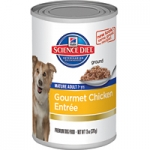 Science Diet Mature Adult Gourmet Chicken Entrée Dog Canned