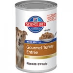Science Diet Mature Adult Gourmet Turkey Entrée Dog Canned