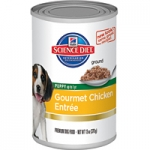 Science Diet Puppy Gourmet Chicken Entrée Dog Canned