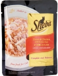 Sheba Tuna & Chicken with Bonito Flake Pouch Cat Food
