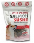 Snack 21 Wild Pacific Salmon Sushi Rolls for Dogs
