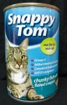 Snappy Tom Chunky Fish with Flaked Snapper Cat Canned