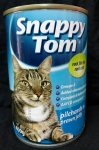 Snappy Tom Pilchards in Prawn Jelly Cat Canned