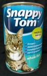 Snappy Tom Whole Fish Cat Canned