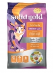 Solid Gold Let's Stay Indoor With Chicken, Lentils & Apples Recipe Cat Dry Formula 3lb