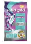 Solid Gold Let's Stay Indoor With Salmon, Lentils & Apples Cat Dry Formula 6lb