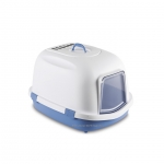 Stefanplast Super Queen Cat Litter Box Blue