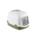 Stefanplast Super Queen Cat Litter Box Green