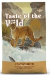 Taste of the Wild Canyon River Trout & Smoked Salmon Cat Dry Formula 6.6kg