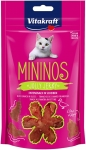 Vitakraft Mininos Duck Snack in Slices for Cats