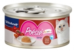 Vitakraft Poesie Colours Tuna & Tomato Mousse (Senior) Cat Canned Food
