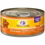 Wellness Complete Health Gravies Chicken Entree Cat Canned