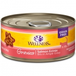 Wellness Complete Health Gravies Salmon Entree Cat Canned