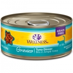 Wellness Complete Health Gravies Tuna Dinner Cat Canned